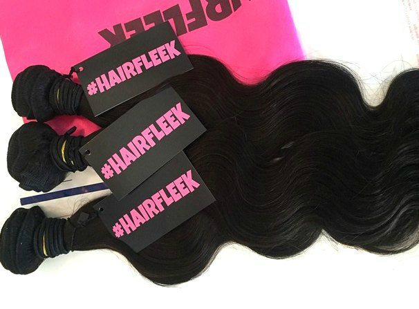 Hairfleek Hair Extensions packaging