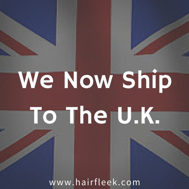 We Now Ship To The United Kingdom