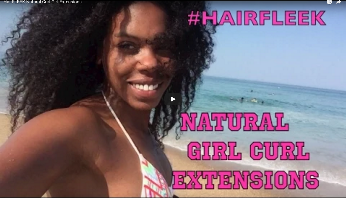 Love the Look! Natural Hair Sew-in Extensions