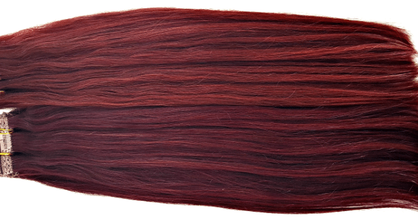 Cherry wine clip in extensions