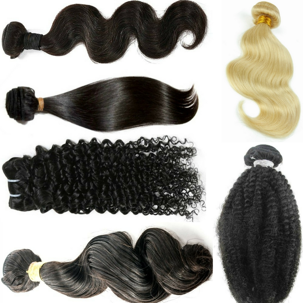 hair extension textures