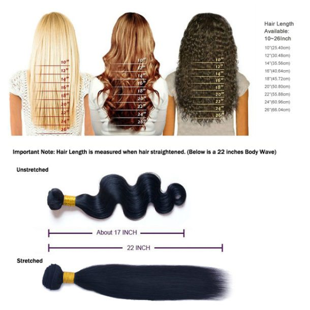 The Various Hair Extension Lengths 14 Hairfleek