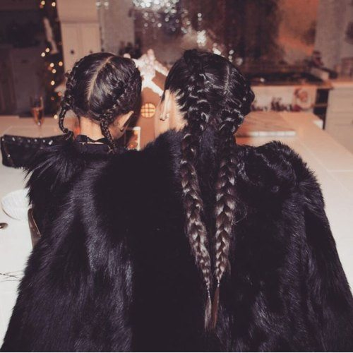 Jenner French Braids