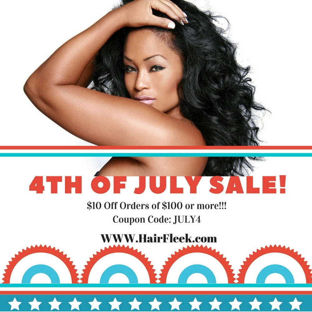 4th of July Hair Sale