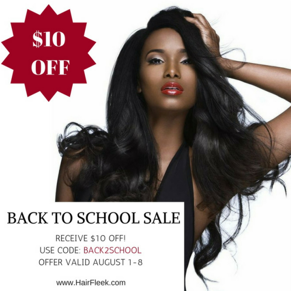 Catch The Back To School Sale!