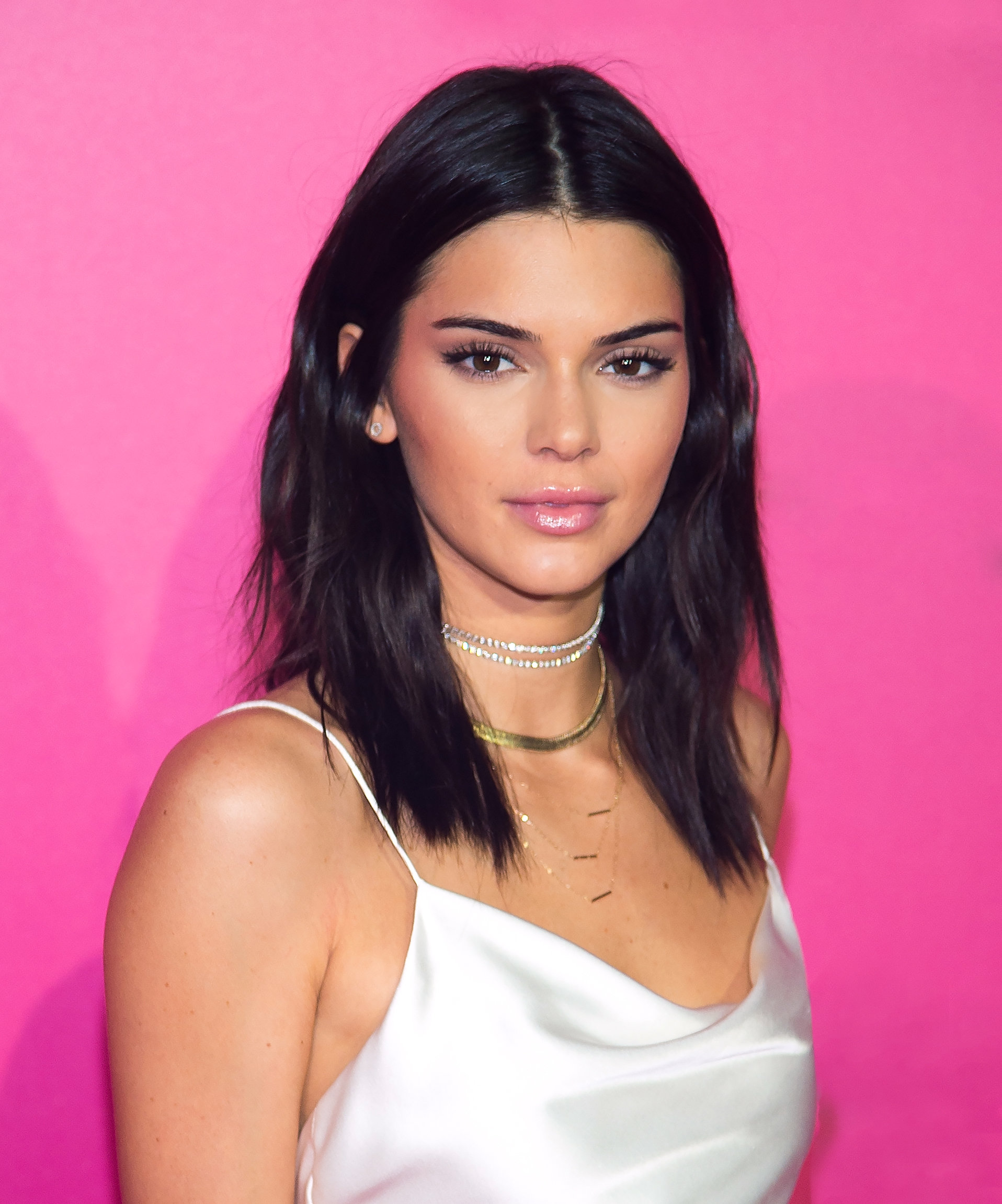 Kendall Jenner chocolate brown