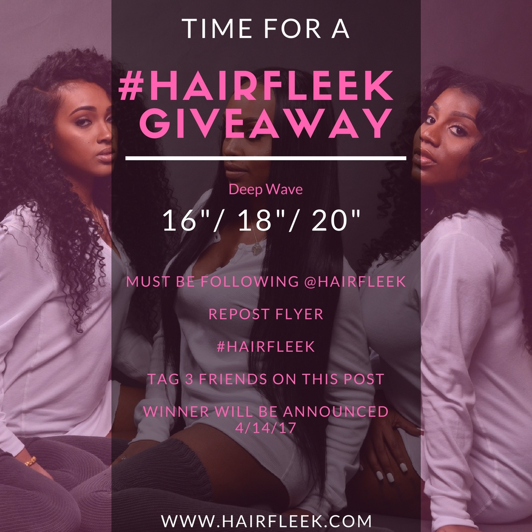 April #HAIRFLEEK Giveaway