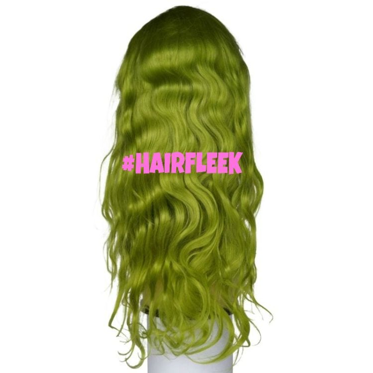 Lime Green-Wig
